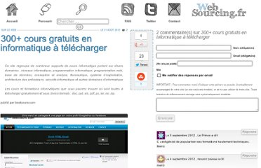 http://blog.websourcing.fr/ontheweb/300-cours-gratuits-en-informatique-a-telecharger/