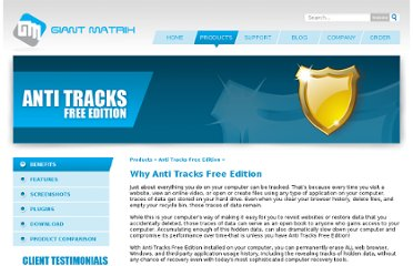http://www.giantmatrix.com/products/anti-tracks-free-edition/