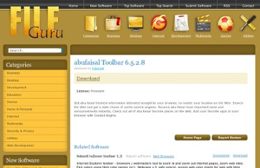 http://www.fileguru.com/Abufaisal-Toolbar/download