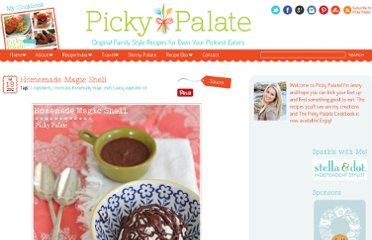 http://picky-palate.com/2012/07/18/homemade-magic-shell/