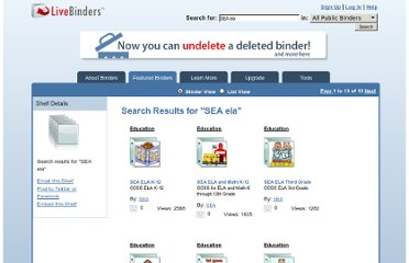 http://www.livebinders.com/shelf/search?terms=SEA+ela&search%5Btype%5D=0&commit=Search