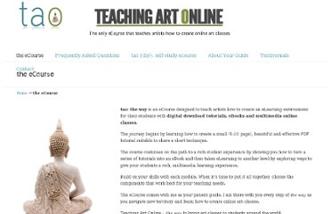 http://www.teachingartonline.com/the-ecourse/