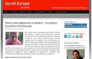 http://www.social-europe.eu/2012/09/youth-unemployment-in-poland-economic-growth-is-not-enough/