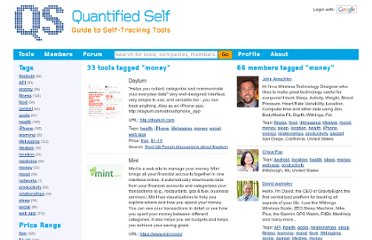 http://quantifiedself.com/guide/tag/money