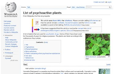 http://en.wikipedia.org/wiki/List_of_psychoactive_plants
