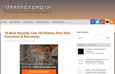 http://www.darknet.org.uk/2006/03/10-best-security-live-cd-distros-pen-test-forensics-recovery/