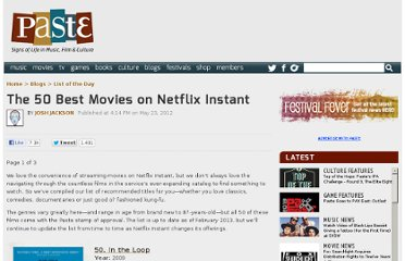 http://www.pastemagazine.com/blogs/lists/2012/05/the-50-best-movies-on-netflix-instant.html