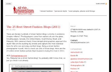 http://styleinvasion.com/blog/2011/05/15/best-street-fashion-blogs/