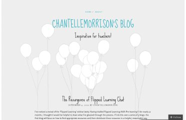 http://chantellemorrison.wordpress.com/2012/09/04/the-resurgence-of-flipped-learning-chat/