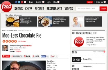 http://www.foodnetwork.com/recipes/alton-brown/moo-less-chocolate-pie-recipe/index.html