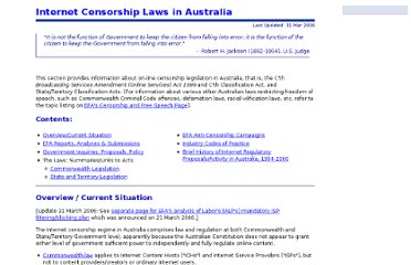 https://www.efa.org.au/Issues/Censor/cens1.html