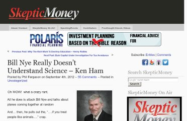 http://www.skepticmoney.com/bill-nye-really-doesnt-understand-science-ken-ham/