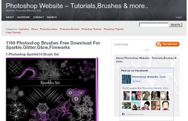 http://www.photoshopwebsite.com/photoshop-brushes/1100-photoshop-brushes-free-download-for-sparkleglitterglowfireworks/