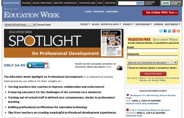 http://www.edweek.org/ew/marketplace/products/spotlight-professional-development-2012.html