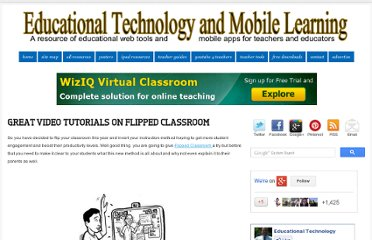 http://www.educatorstechnology.com/2012/09/great-video-tutorials-on-flipped.html