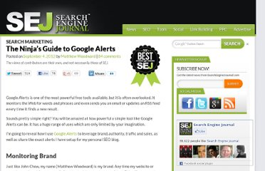 http://www.searchenginejournal.com/the-ninjas-guide-to-google-alerts/48068/