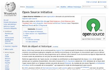 http://fr.wikipedia.org/wiki/Open_Source_Initiative