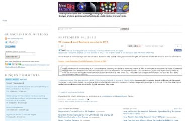 http://nextbigfuture.com/2012/09/53-thousand-word-textbook-encoded-in-dna.html