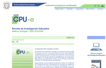 http://www.uv.mx/cpue/num15/index.html