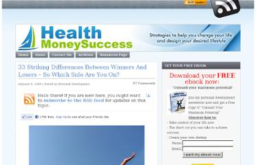 http://www.healthmoneysuccess.com/1795/33-differences-between-winners-and-losers/