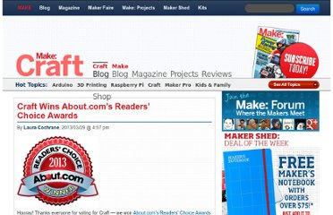 http://blog.makezine.com/craft/