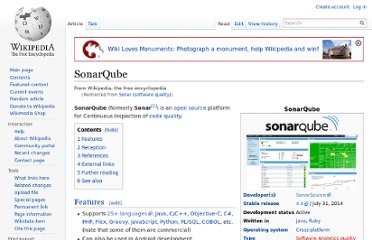 http://en.wikipedia.org/wiki/Sonar_(software_quality)