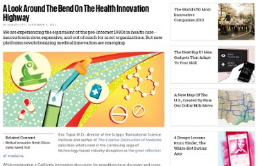 http://www.fastcompany.com/3000943/look-around-bend-health-innovation-highway