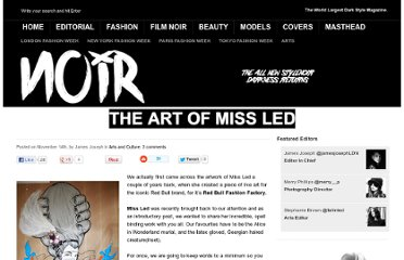 http://www.stylenoir.co.uk/the-art-of-miss-led/