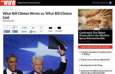 http://www.theatlanticwire.com/politics/2012/09/what-bill-clinton-said-vs-what-he-wrote/56562/