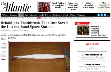 http://www.theatlantic.com/technology/archive/2012/09/behold-the-toothbrush-that-just-saved-the-international-space-station/262035/