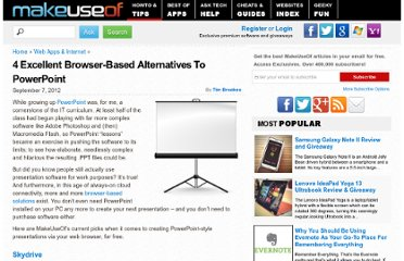 http://www.makeuseof.com/tag/4-excellent-browser-based-alternatives-to-powerpoint/