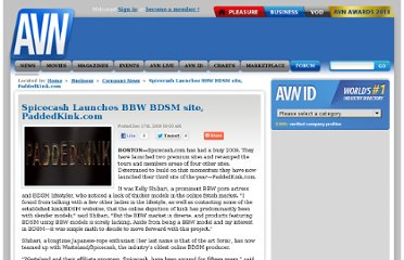 http://business.avn.com/company-news/Spicecash-Launches-BBW-BDSM-site-PaddedKink-com-374939.html