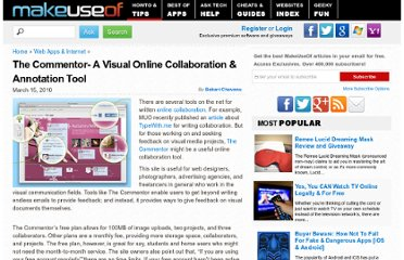 http://www.makeuseof.com/tag/commentor-visual-online-collaboration-annotation-tool/