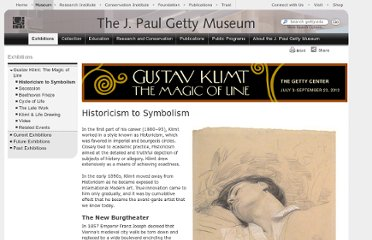 http://www.getty.edu/art/exhibitions/klimt/historicism_symbolism.html