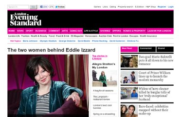 http://www.standard.co.uk/lifestyle/the-two-women-behind-eddie-izzard-6537677.html#.Tji0RI0xP9I.facebook