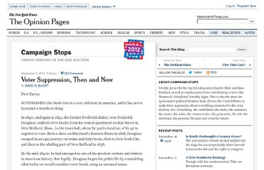 http://campaignstops.blogs.nytimes.com/2012/09/06/voter-suppression-then-and-now/