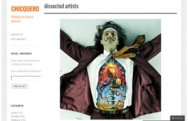 http://chicquero.com/2012/05/02/dissected-artists/
