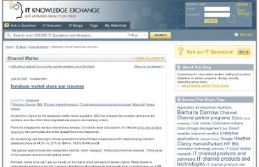 http://itknowledgeexchange.techtarget.com/channel-marker/database-market-share-war-resumes/