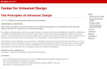 http://www.ncsu.edu/project/design-projects/udi/center-for-universal-design/the-principles-of-universal-design/