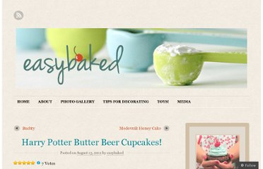 http://easybaked.net/2011/08/13/harry-potter-butter-beer-cupcakes/