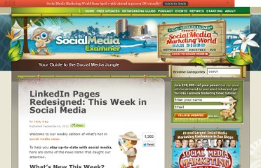 http://www.socialmediaexaminer.com/linkedin-pages-redesigned-this-week-in-social-media/