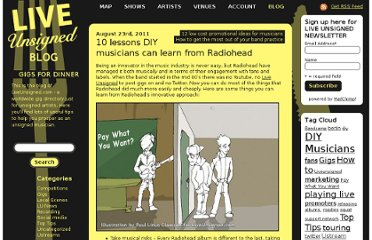 http://www.liveunsigned.com/blog/2011/08/10-lessons-diy-musicians-can-learn-from-radiohead/