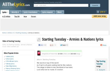 http://www.allthelyrics.com/lyrics/starting_tuesday/armies_nations-lyrics-888200.html