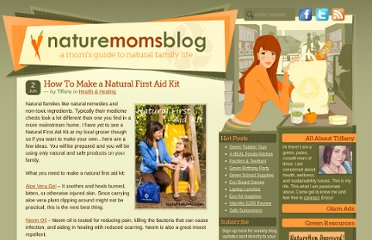 http://naturemoms.com/blog/2008/06/02/how-to-make-a-natural-first-aid-kit/