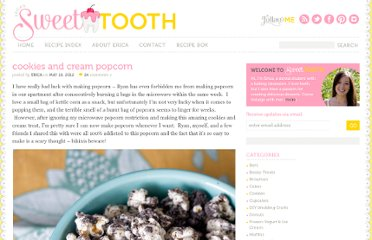 http://www.ericasweettooth.com/2012/05/cookies-and-cream-popcorn.html