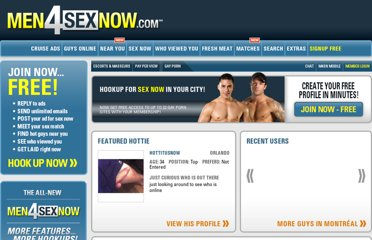 Gay Dating Services - Gay Adult Personals - Gay Matchmaking