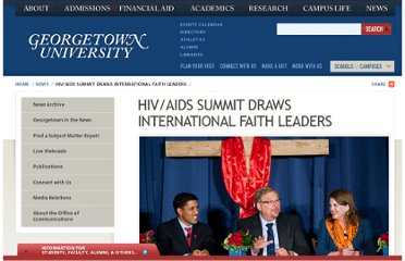 http://www.georgetown.edu/news/aids-summit-faith-leaders.html