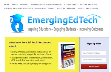 http://www.emergingedtech.com/2012/09/10-emerging-education-and-instructional-technologies-that-all-educators-should-know-about-2012/
