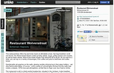 http://unlike.net/amsterdam/food/restaurant-wolvenstraat