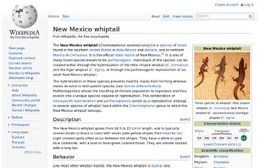 http://en.wikipedia.org/wiki/New_Mexico_whiptail